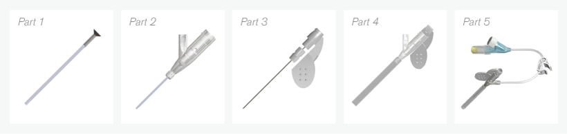IV catheter components